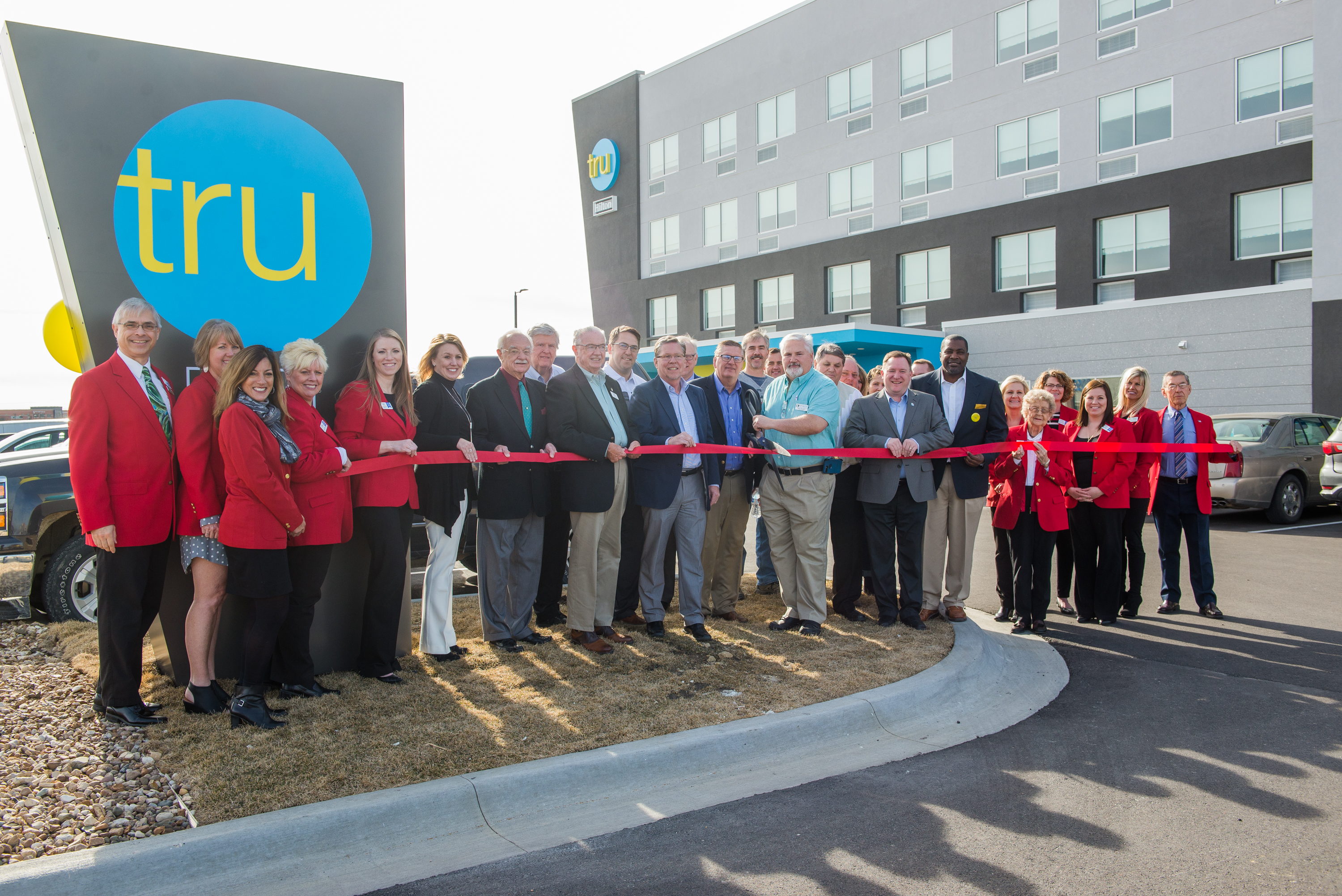 Cedar Rapids, Iowa - The Tru Hilton grand opening celebration on March 15, 2018. For social media, corporate and advertising use by Kinseth Hospitality Companies of North Liberty, Iowa. Photography by David Greedy.